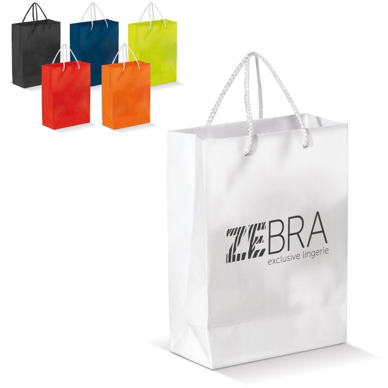 Papirpose med logo